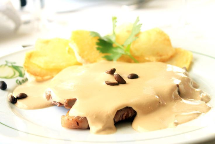 coffee steak - traditional portuguese dish from lisbon