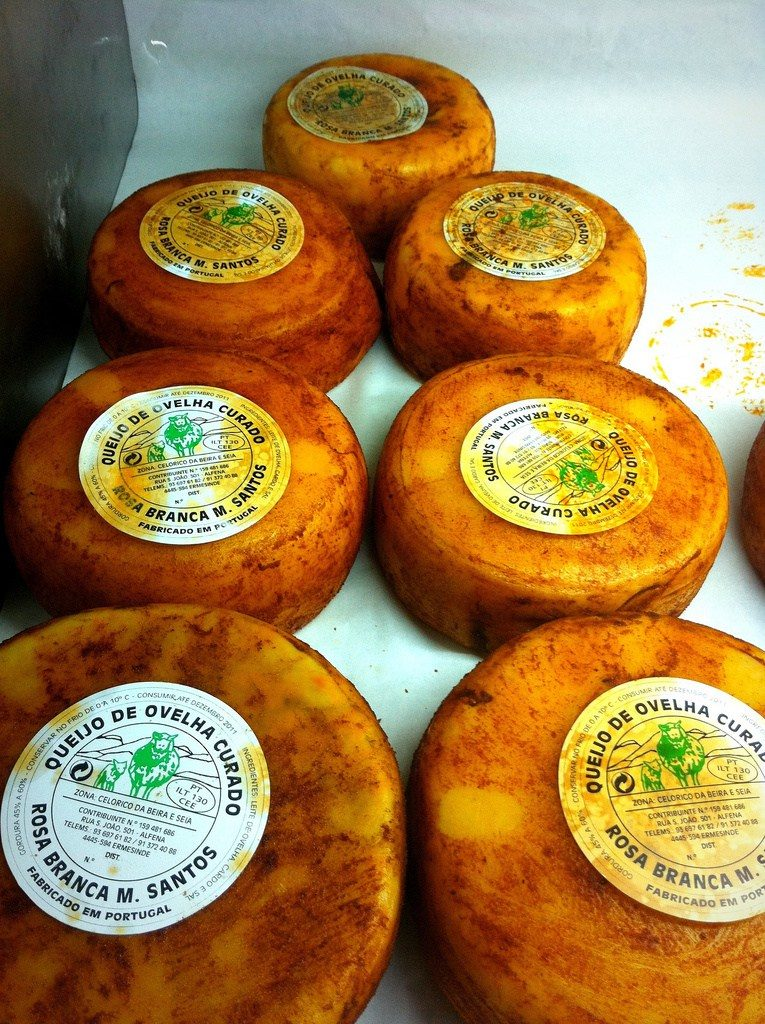 traditional portuguese sheep cheese