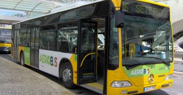 Aerobus Lisbon - Bus Line 91 - Airport to city center connection