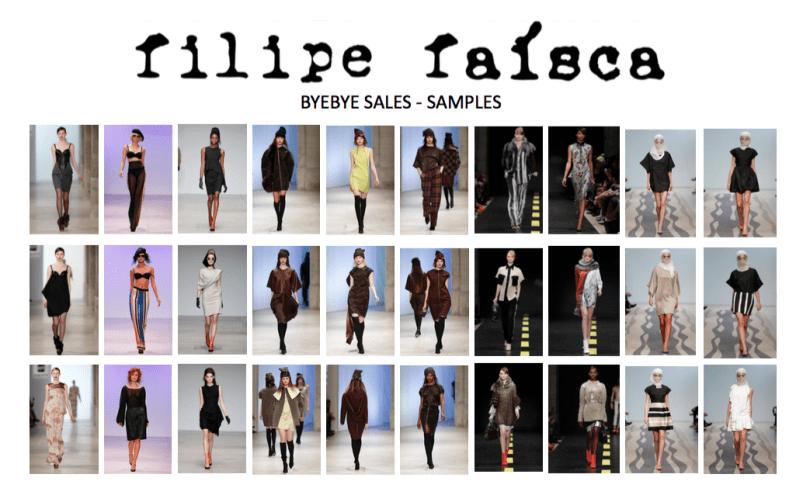 Filipe Faisca - Portuguese fashion Designer - Sample Sales