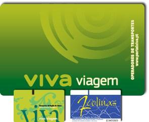 Lisbon Transport Tickets - Viva Viagem - 7 Colinas