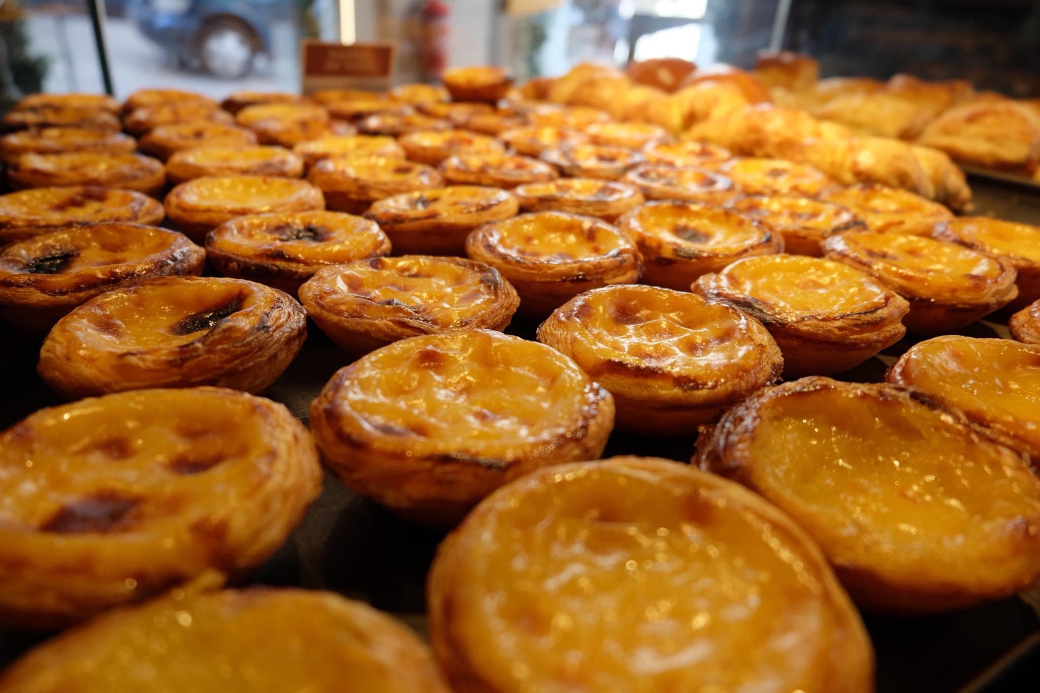 Natas from Pastelaria Alcoa - Lisbon