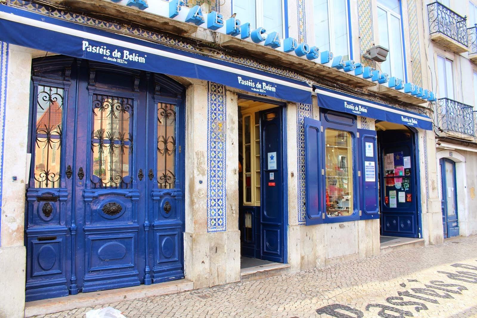 Pasteis de Belem store - Lisbon