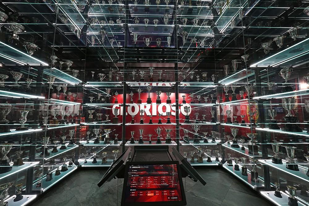 Benfica museum - trophy room