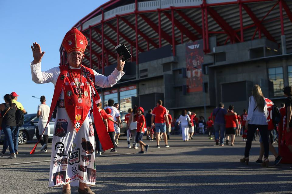 Benfica supporters at Estadio da Luz - Lisbon